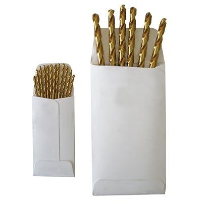 Disston E0100915 Titanium Jobber Length Drill Bits-Bulk/Envelope, Daimeter 7/64-Inch, Sold In Envelopes, 12 Units/Envelope