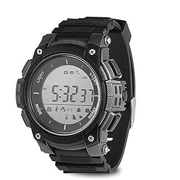 ZCPWJS Pulsera Inteligente Smart Watch Sport Podómetros ...