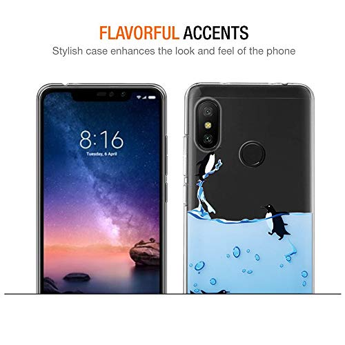 Amazon.com: Eouine Xiaomi Redmi Note 6 Pro Case, Phone Case ...