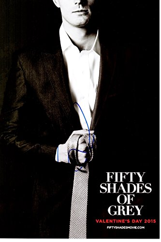Jamie Dornan Signed - Autographed Fifty Shades of Grey Actor 10x15 inch Mini Movie Poster Photo - 50 Shades of Grey - Christian Grey