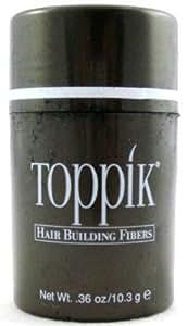 Toppik Hair Building Fiber Dark Brown (3-Pack) with Free Nail File