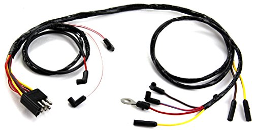 MUSTANG ENGINE GAUGE FEED WIRE 6 cyl to Firewall 1966 (Firewall Feed)