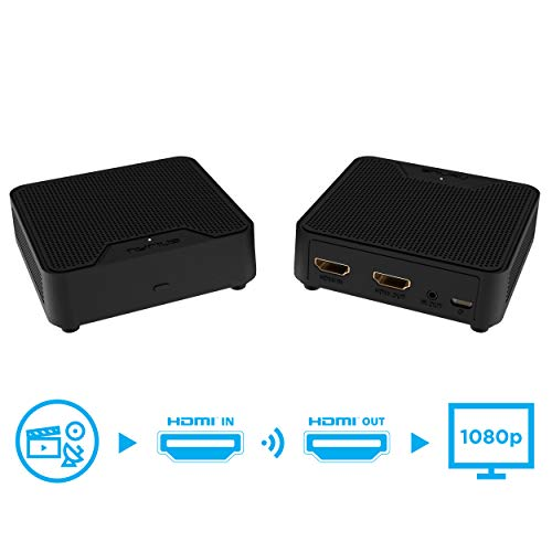 - Nyrius WS55 Wireless HDMI Video Transmitter & Receiver for Streaming HD 1080p Video & Digital Audio from A/V Receiver, Cable/Satellite Box, Blu-ray, PC to TV/Projector