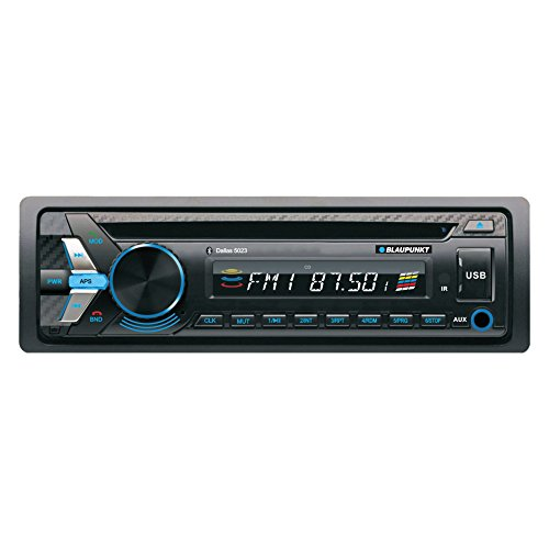 Blaupunkt DALLAS 5023 MP3 and CD Car Stereo Receiver with USB, SD, and AUX Port and Remote -