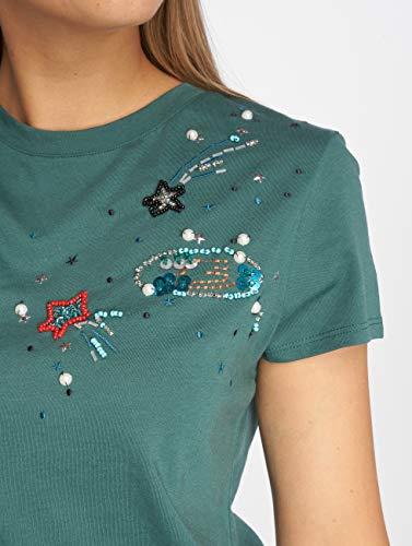 Jeans Femme T Applique Galaxy shirts Mavi fdqRSq