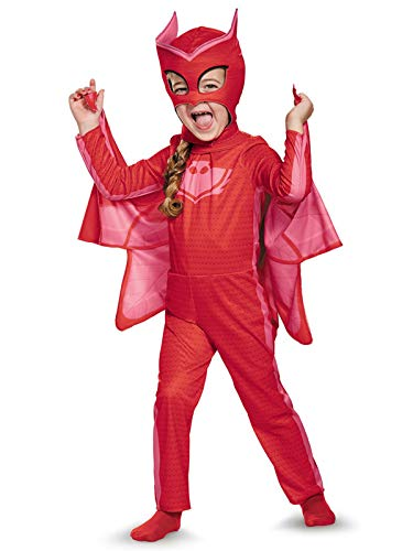 Owlette Classic Toddler PJ Masks Costume, Medium/3T-4T -