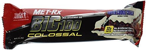 MET-Rx Big100 Colossal Bar Super Cookie Crunch -- 12 Bars
