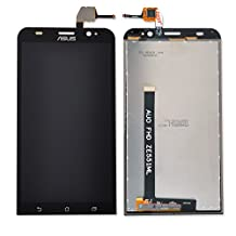 KR-NET Black Display LCD Touch Screen Digitizer Assembly for Asus Zenfone 2/Deluxe ZE551ML Repair Replacement + Tools