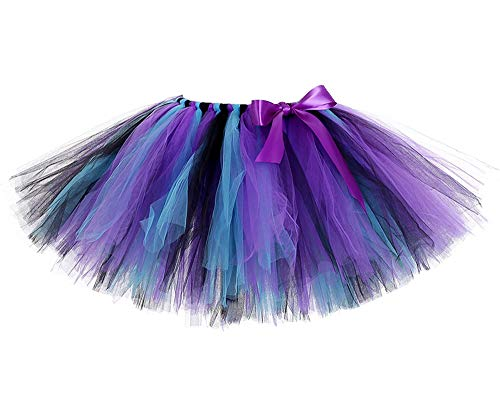 Peacock Tutu Skirt (Girls Peacock Tutu Skirt Tulle Fluffy Short Tutus Medium)