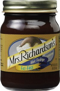 Mrs. Richardson's Fat Free Hot Fudge Topping 16.5 OZ