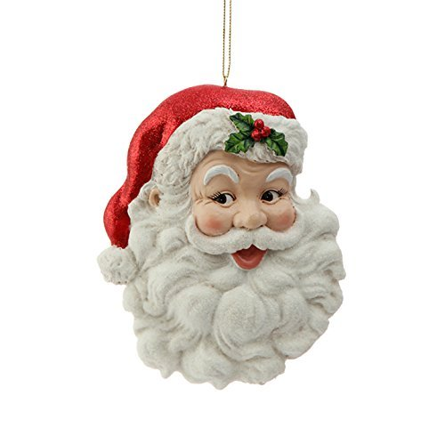 Face Christmas Ornament - 7
