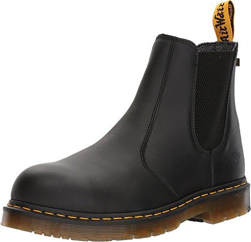 (Dr. Martens Work Men's Fellside Steel Toe SD Chelsea Black 13 D UK)