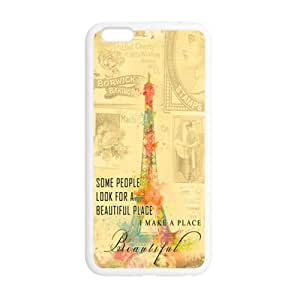 "Best Desgin Protective Pairs Eiffel Tower Back Cases Covers For iPhone6 Plus 5.5"" (Laser Technology) Case"