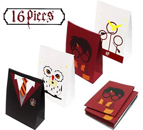 Magical Wizard School Favors Bags (16 PACK