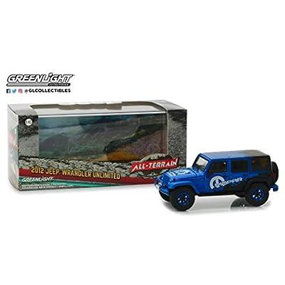 Greenlight 86099 1: 43 2012 Jeep Wrangler Unlimited - Mopar Off-Road Edition, Multi: Toys & Games