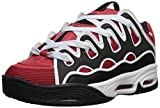 Osiris Men's D3 2001 Skate Shoe red/Black/White 8 M US