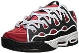 Osiris Men's D3 2001 Skate Shoe red/Black/White 8 M US