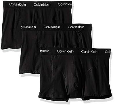 Calvin Klein Men's Elements 3 Pack Trunks