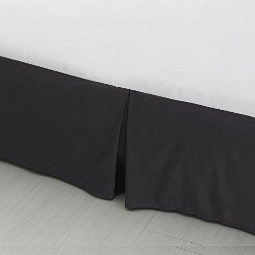 SODIAL R Black 4-Corner Bed Netting Canopy Mosquito Net for Queen/King Sized Bed 190 * 210 * 240cm