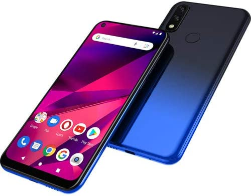 "BLU G70 G0250WW 6.4"" HD+ Infinity Dot 32GB Dual-SIM GSM Smartphone, 2GB RAM, Dual 13MP Rear + 8MP Front Camera, Mediatek Helio P23, Android 9 Pie, Unlocked, Blue WeeklyReviewer"