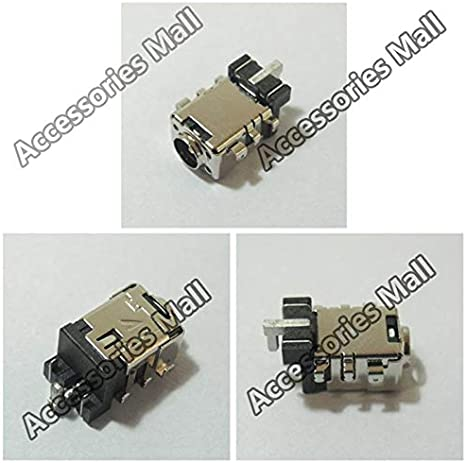 ShineBear 2-10 PCS DC Power Jack Connector for Asus A456 A456U A456UF A456UF6200 X456UJ DC Jack 4.01.35 Cable Length: 2 PCS