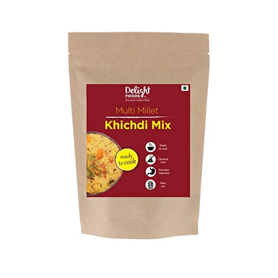 Delight Foods Multi Millet Khichdi Mix (400 gm)