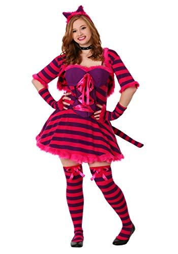 FunCostumes Adult Plus Size Sexy Wonderland Cat Costume