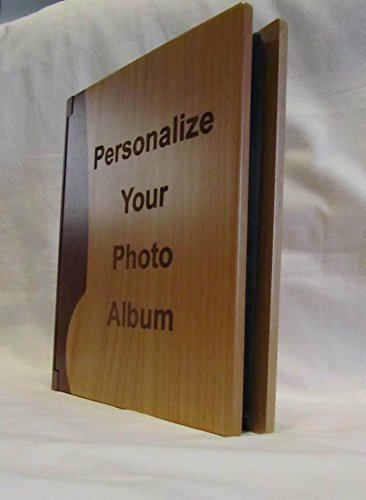 Personalized Wooden Photo Album With Your Custom Design - Large by Whitetail Woodcrafters (Image #2)