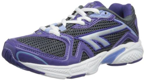 Hi-Tec R157 Jr - Zapatillas de correr de material sintético niña Violeta - Purple/Lilac/White
