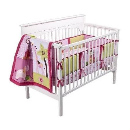 Tiddliwinks-Sweet-Safari-3pc-Baby-Crib-Bedding-Set