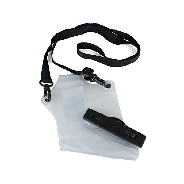HSeaMall - Funda impermeable universal transparente para radio o walkie-talkie, protección frente a la lluvia, Motorola… 4