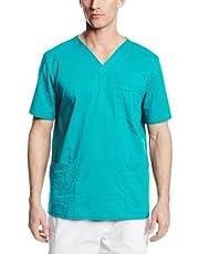 قميص بريميوم كور مخصص للأطباء من الجنسين قابل للتمدد بقبة V من شيروكي