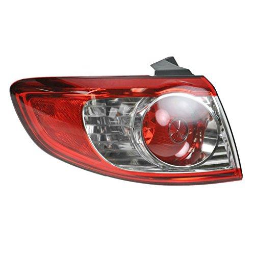 Outer Brake Light Taillight Lamp Driver Side Left LH for 10-12 Hyundai Santa Fe (Santa Lamp)