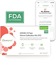 Everlywell COVID-19 Test Home Collection Kit DTC for Asymptomatic and Symptomatic Testing (1 Count)