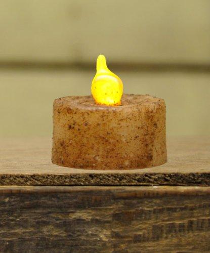 Burnt Ivory Light Candle Timer