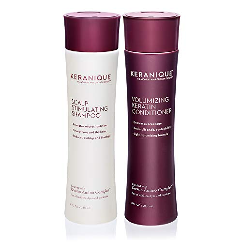 Keranique Shampoo and Conditioner Set for Hair Growth and Thinning Hair | Keratin Hair Treatment | Keratin Amino Complex…