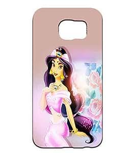 Aladdin Jasmine Disney Logo Beautiful Cell Phone Cover Skin Elegant Style Samsung Galaxy S6 Solid Carcasa Para Teen Girls