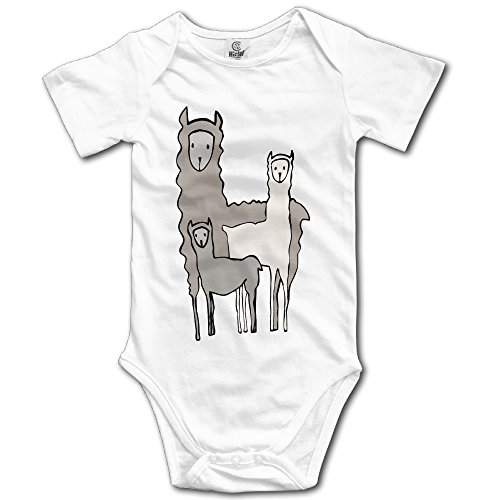 Baby Llama Family Infant Printed Newborn Clothes Baby's Coveralls - Newborn Printed Coverall