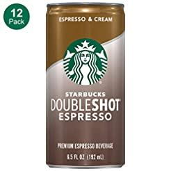 Starbucks Doubleshot, Espresso + Cream, ...
