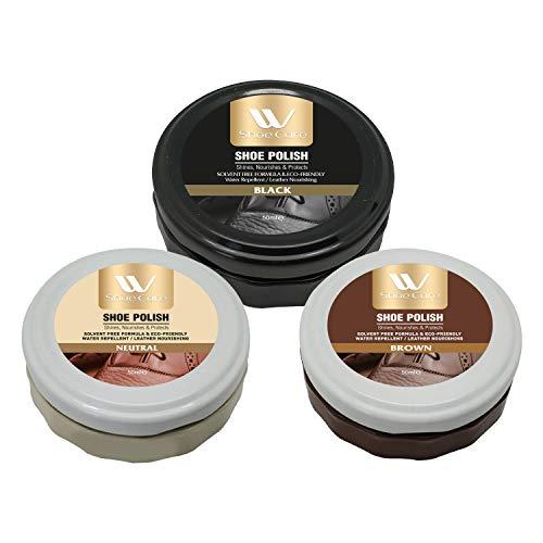 WBM LLC Shoe Polish Kit | Brown,