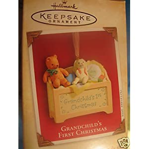 Hallmark Keepsake Ornament Grandchild's First Christmas 2004