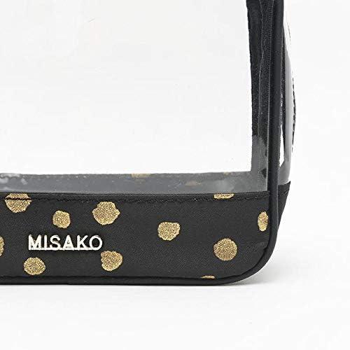 Misako – Neceser Mujer CARDOTI Transparente de Misako en Color Negro | Neceser Viaje | Neceser Maquillaje Organizador | Frascos Recargables: Amazon.es: Equipaje