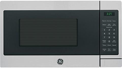 GE Appliances JEM3072SHSS GE 0.7 Cu. Ft. Capacity Countertop Microwave Oven, Stainless Steel