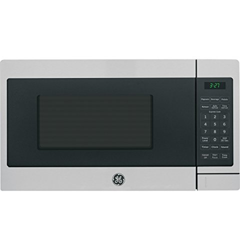GE Appliances JEM3072SHSS Countertop Microwave, 0.7 Cu Ft, Stainless Steel