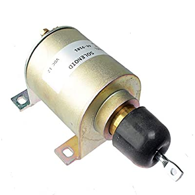 Mover Parts Fuel Solenoid 12V 44-9181 449181 for Thermo King Engine M-44-9181 Thermo King SL100 SL200 SL300 SL400 TS200 TS300: Automotive