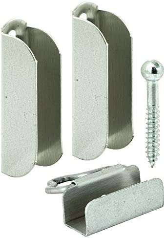 Prime-Line Products PL 7849 Hangers & Latches 4 Top 2 Bottom, 7/16″, with Screws,(Pack of 2)