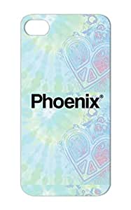 Scratch-free Black PHOENIX Arizona Cities Phoenix City Countries For Iphone 5 Cover Case