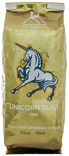 Climbing Ice Accessories (FrictionLabs Unicorn Dust 5oz (142g) - Fine Texture - The New Standard in Chalk for Rock Climbing, Crossfit, and Powerlifting)