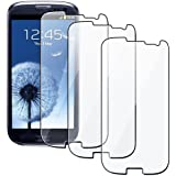 Generic Clear Screen Protector Shield for the Samsung Galaxy S3 i930 - Non-Retail Packaging - Clear