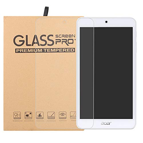 Labanema Acer Iconia One 7 B1-7A0 Tempered Glass Screen Protector, Scratch-Resistant No-Bubble 9H Hardness HD Ultra Clear Film for 7